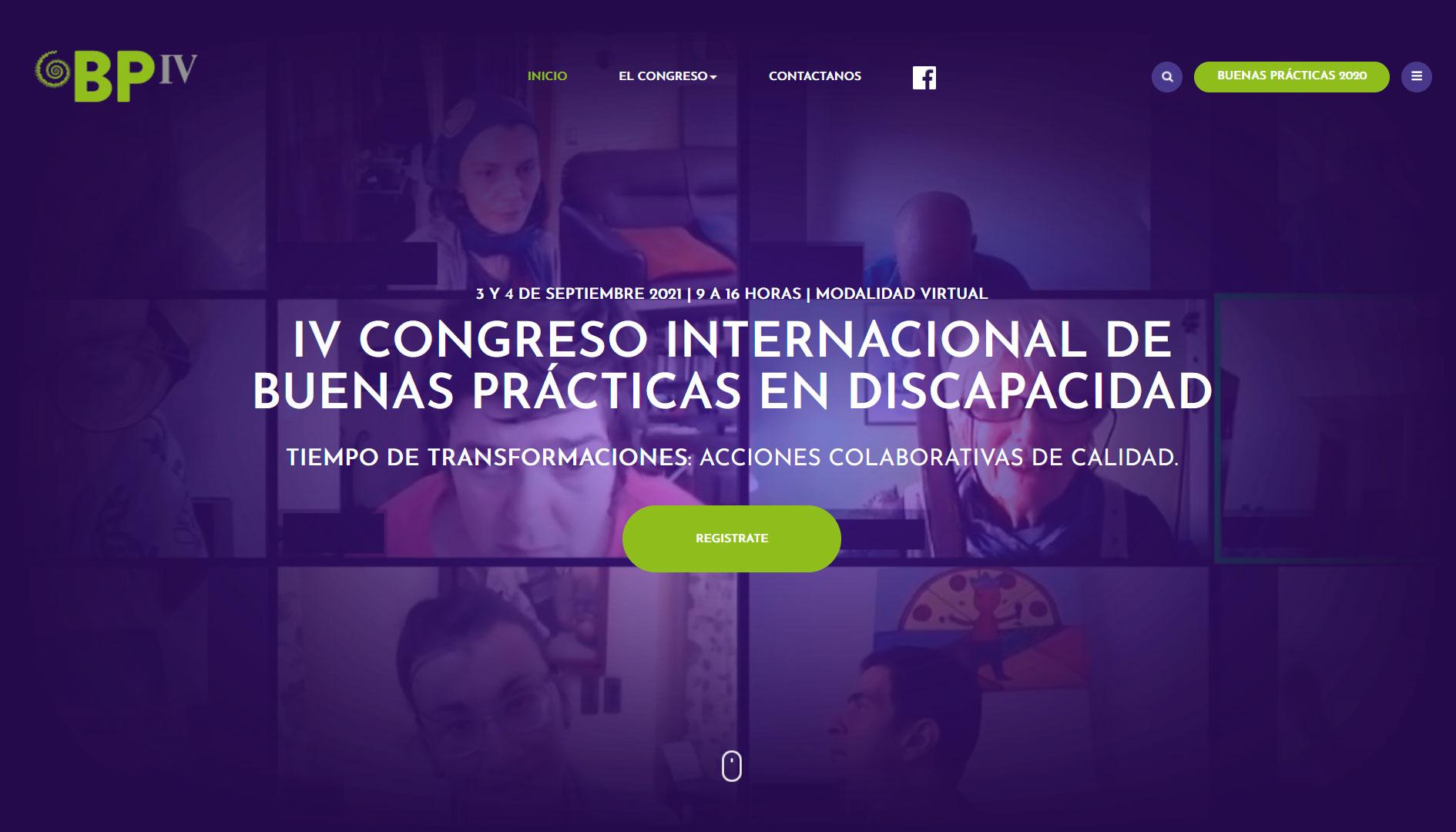 IV Congreso Internacional de Buenas Prácticas en Discapacidad